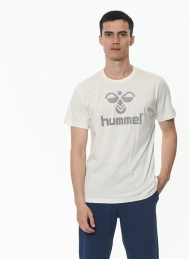 Hummel Erkek Tişört Juniper 911178-9973 Beyaz